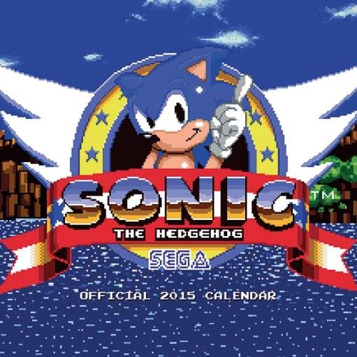 Calendar 2017 Sonic