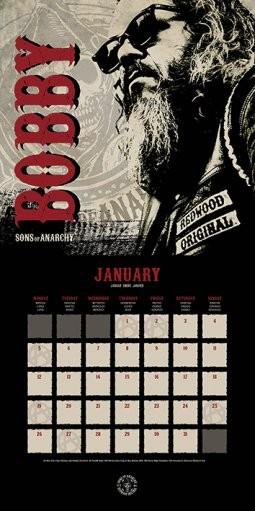 Calendar 2019  Sons of Anarchy