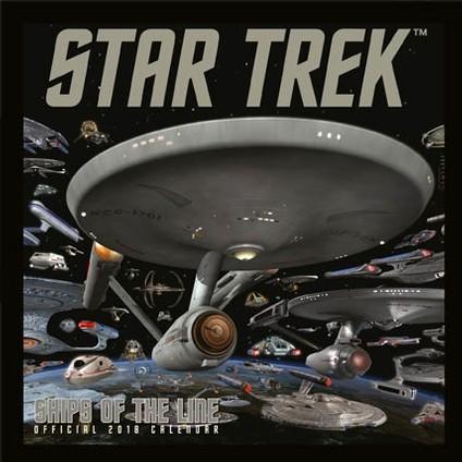 Calendar 2019  Star Trek: Ships Of Line