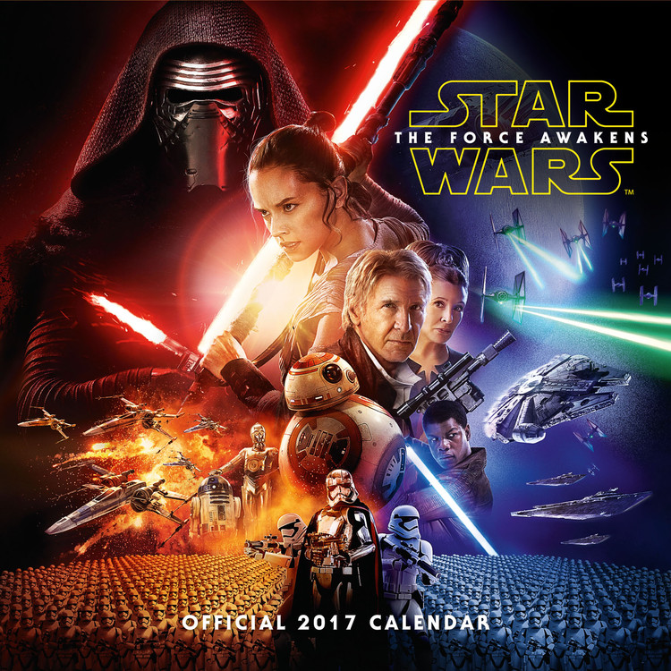 Calendar 2018 Star Wars: Episode 7