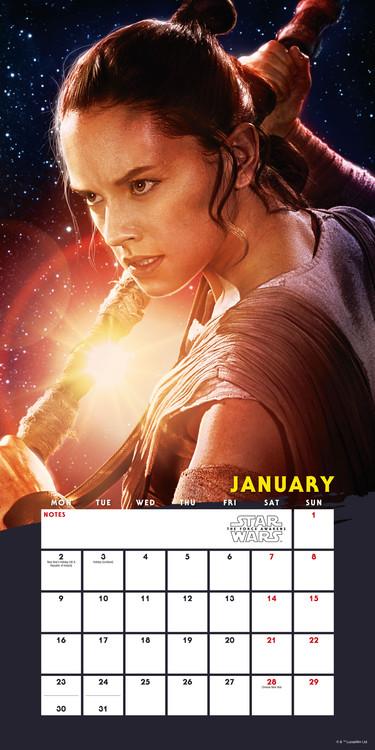 Calendar 2018 Star Wars: Episode 7