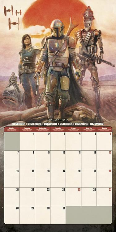 30x30 Cm Calendario Star Wars Include Poster Regalo 12 Mesi Calendario 2021 Da Muro The Mandalorian Cancelleria E Prodotti Per Ufficio Calendari Agende Rubriche E Organizer