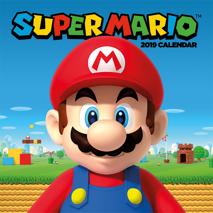 super mario calendars 2019 on ukposters europosters