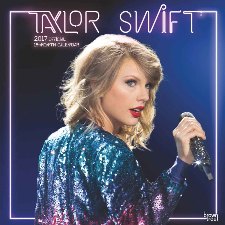 Calendar 2018 Taylor Swift