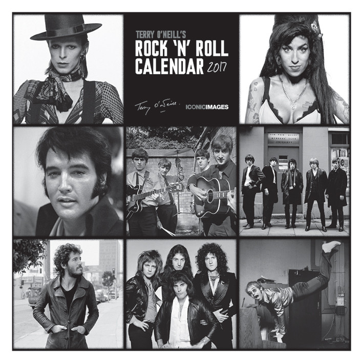 Calendar 2018 Terry O'Neill's Rock 'n' Roll