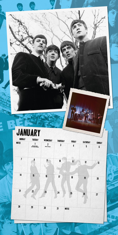 Calendar 2019  The Beatles