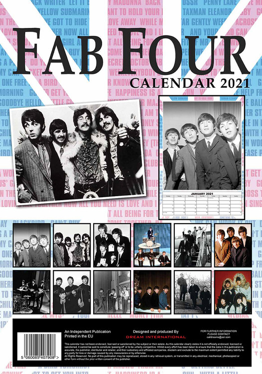 The Beatles   Calendars on UKposters/EuroPosters
