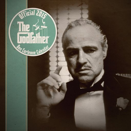 Calendar 2018 The Godfather - Don Corleone