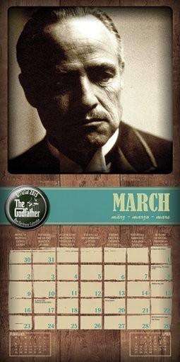 Calendar 2020 The Godfather - Don Corleone