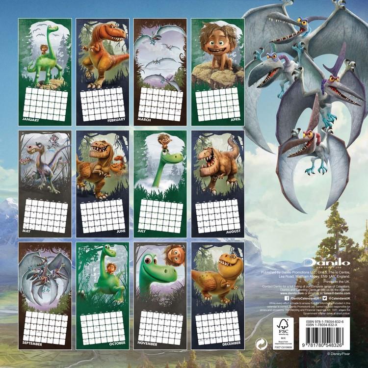 Calendar 2018  The Good Dinosaur