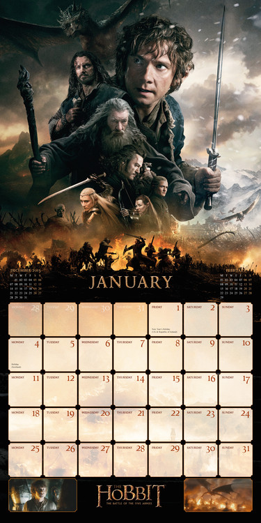 The Hobbit   Calendars on UKposters/EuroPosters