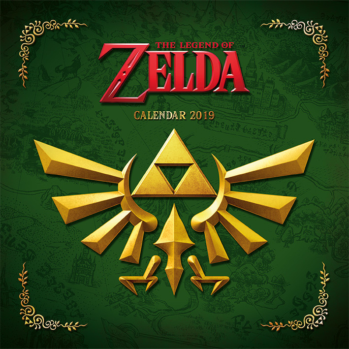 the legend of zelda calendars 2019 on ukposters abposters com