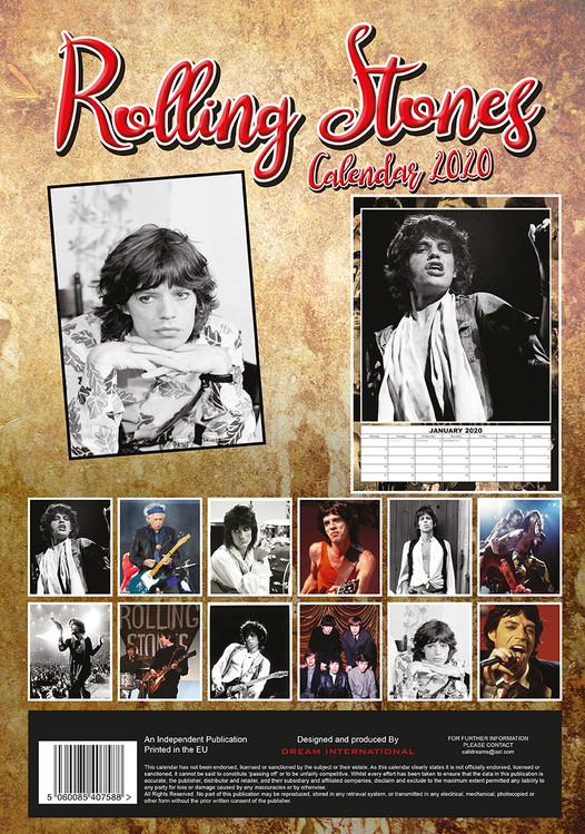 Calendar 2021 The Rolling Stones