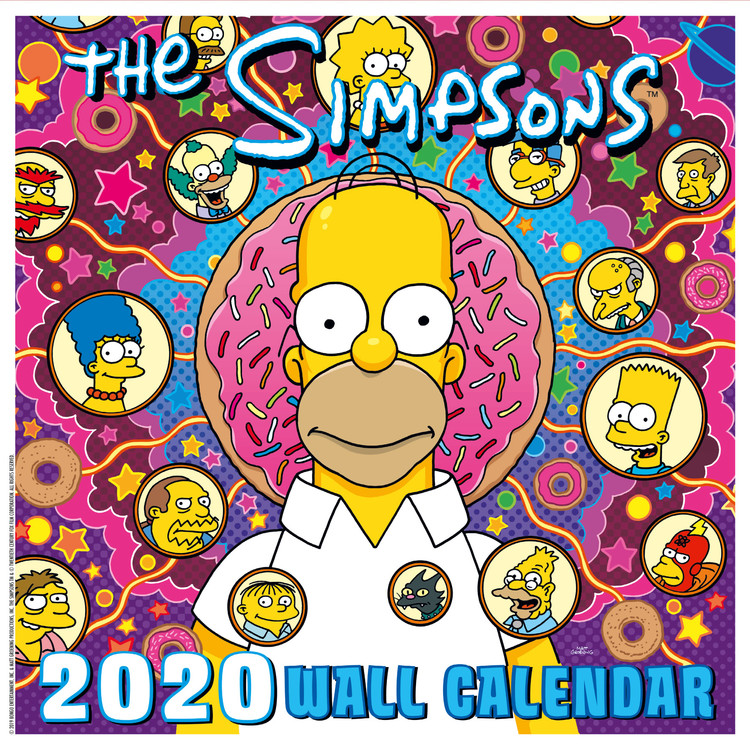 Calendar 2020  The Simpsons