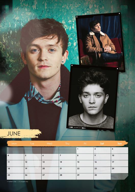 Calendar 2018 The Vamps