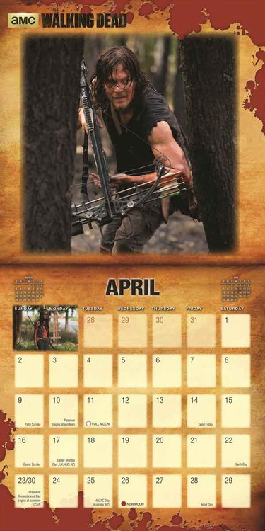 The Walking Dead   Calendars 2021 on UKposters/EuroPosters