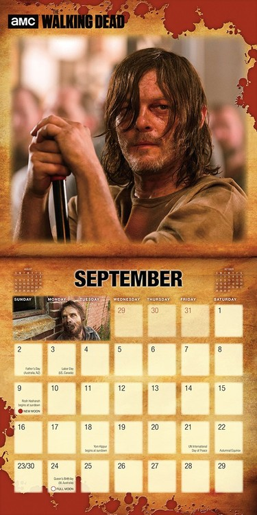The Walking Dead   Calendars on UKposters/Abposters.com