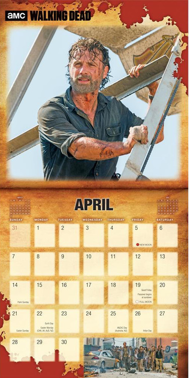 The Walking Dead   Calendars 2021 on UKposters/Abposters.com