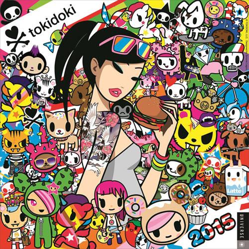 Calendar 2017 Tokidoki