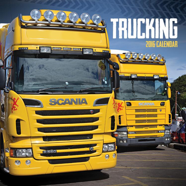 Calendar 2018 Trucking