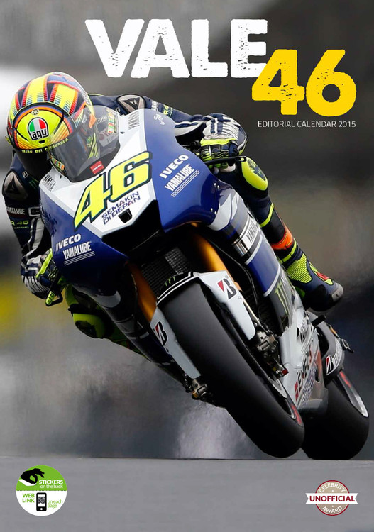Valentino Rossi - Calendar 2016