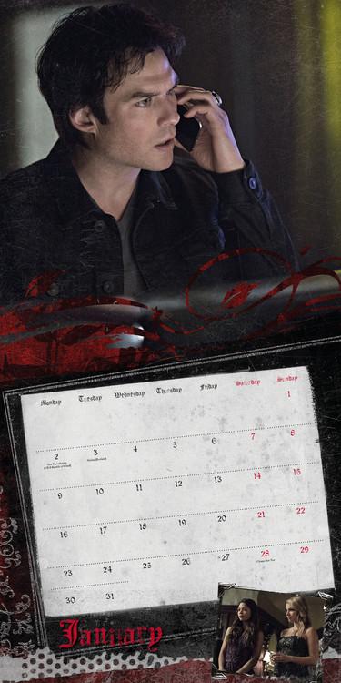 Calendar 2021 Vampire diaries