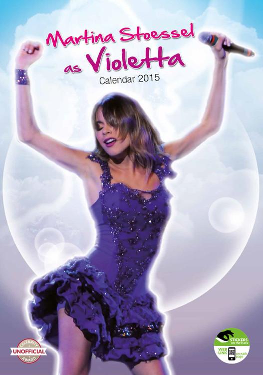 Calendar 2017 Violetta