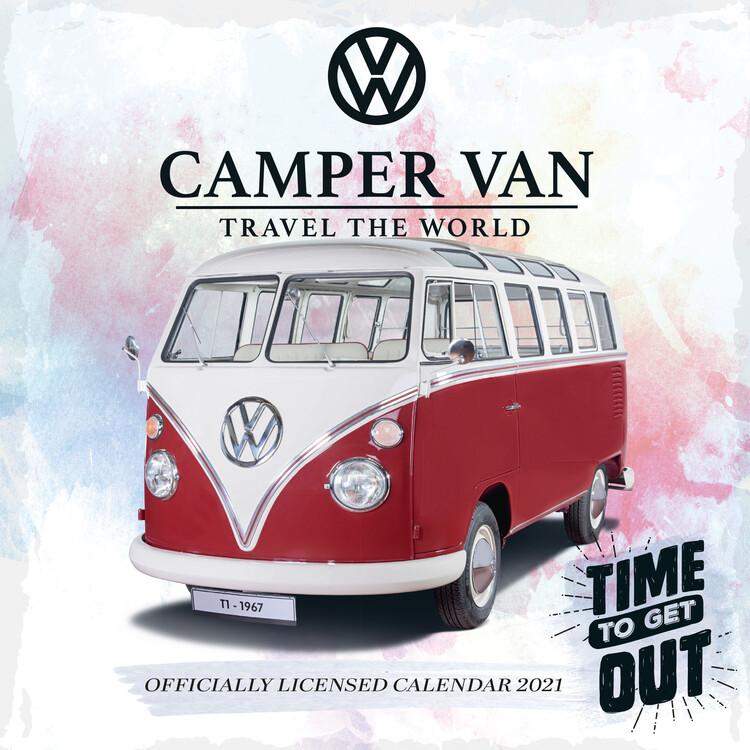 vw camper vans - calendars 2021 on ukposters/europosters