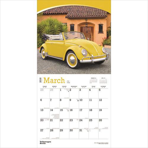 Calendar 2018 VW Volkswagen Beetle Calendar 2018 VW Volkswagen Beetle ...