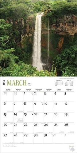 Calendar 2019  Waterfall