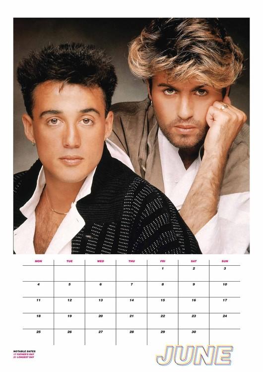 Calendario Ariana Grande 2020.Calendar 2020 Wham
