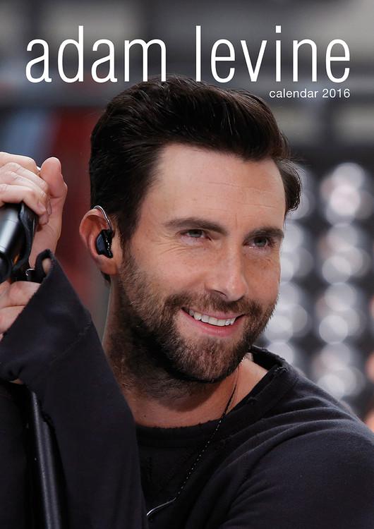 Calendário 2017 Adam Levine (Maroon 5)