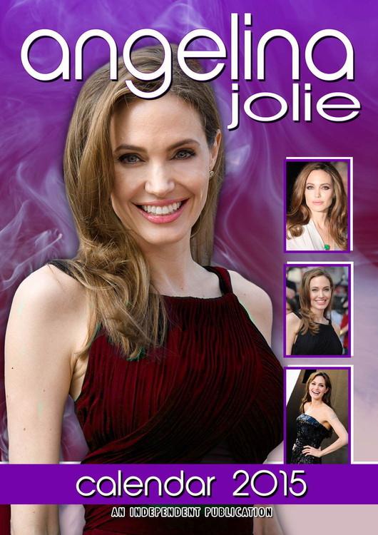 Calendário 2018 Angelina Jolie