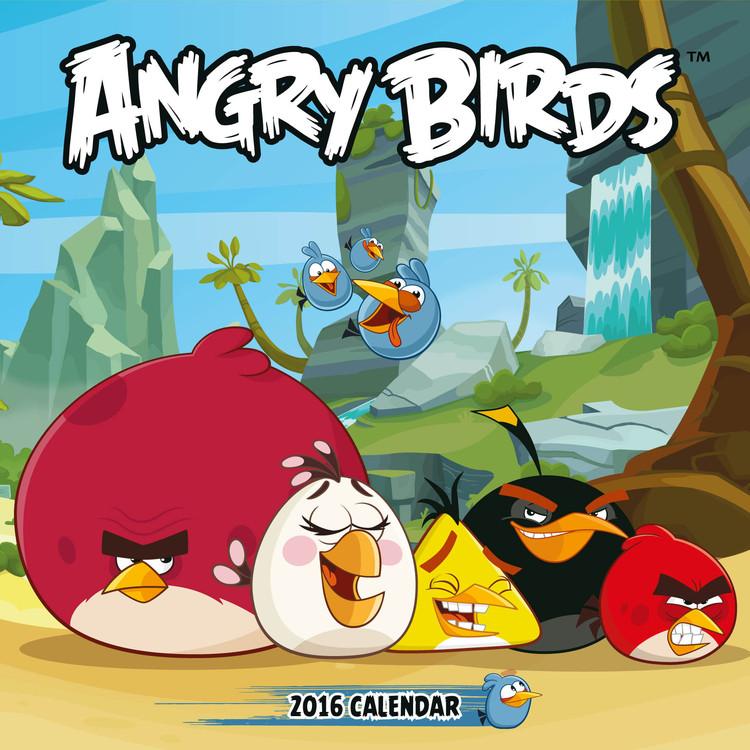 Calendário 2017 Angry Birds