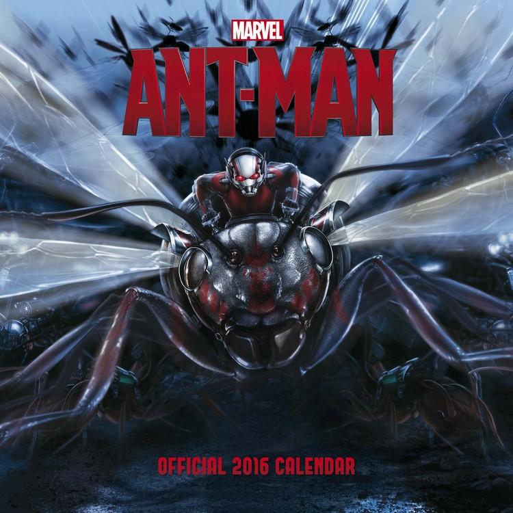 Calendário 2017 Ant-man