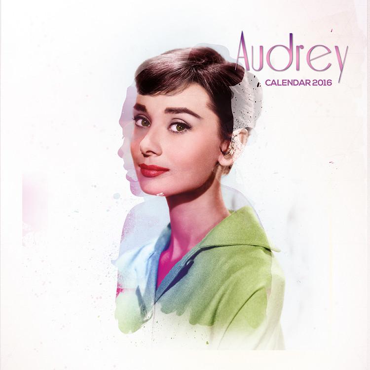 Calendário 2017 Audrey Hepburn