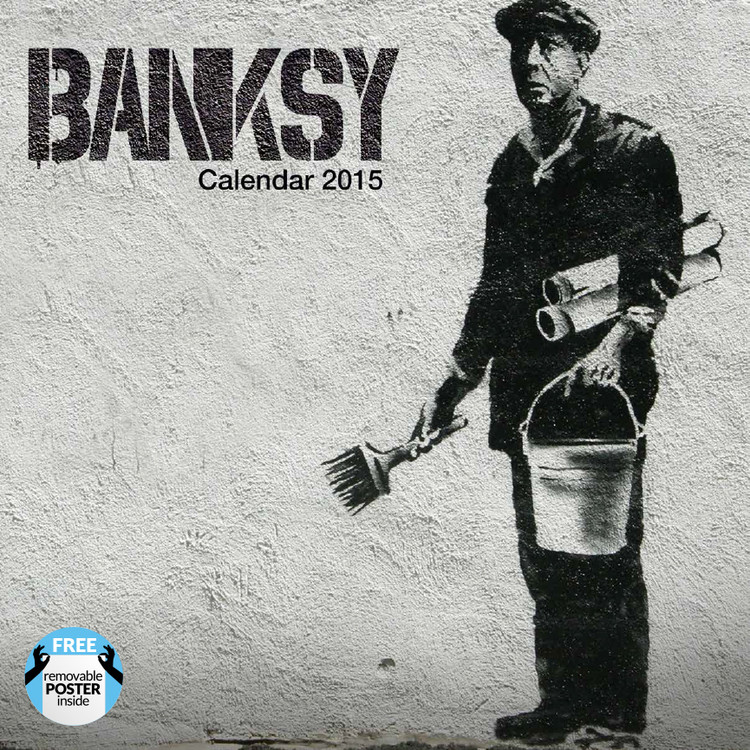 Calendário 2018 Banksy
