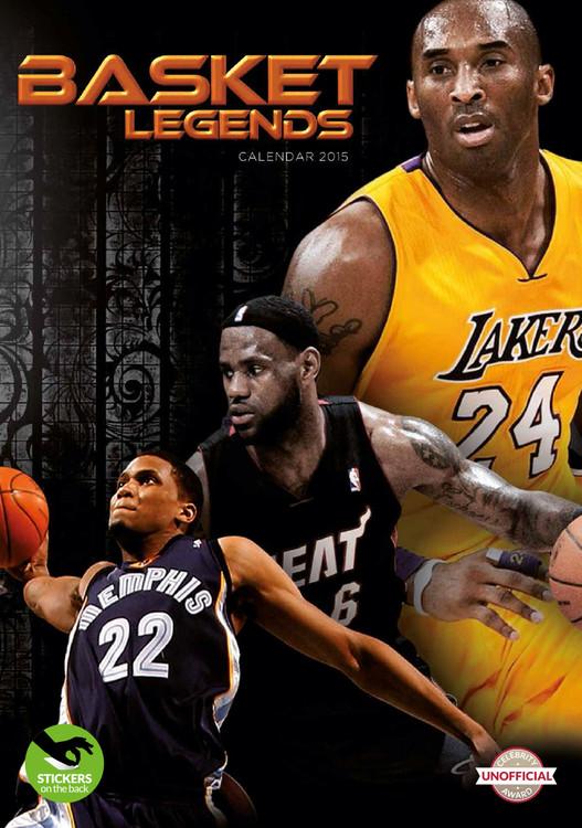 Calendário 2017 Basket