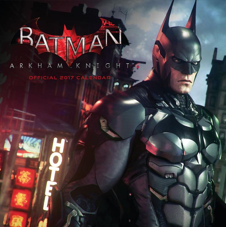 Calendário 2018 Batman: Arkham knight