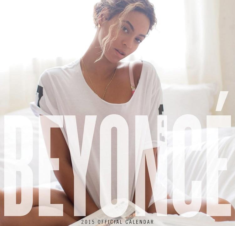 Calendário 2018 Beyoncé
