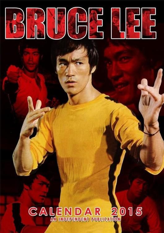Calendário 2018 Bruce Lee