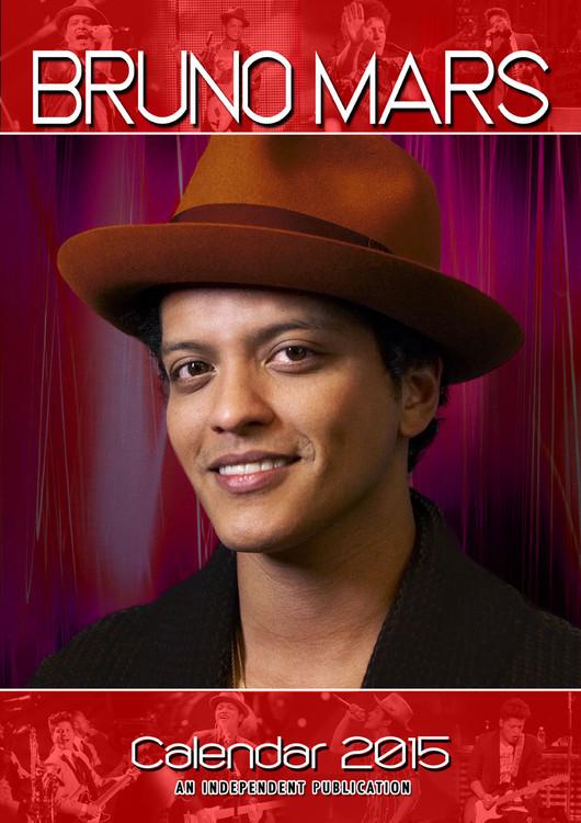 Calendário 2018 Bruno Mars