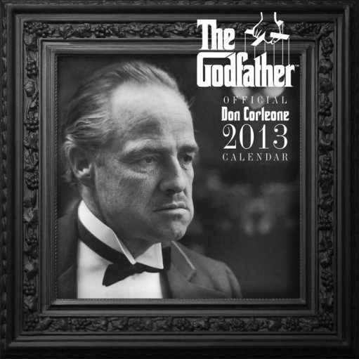 Calendário 2017 Calendar 2013 - GODFATHER