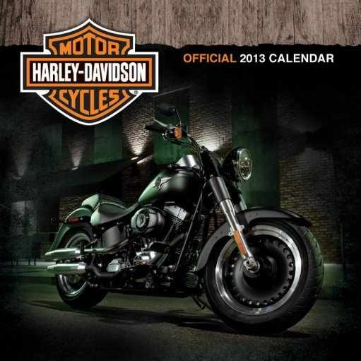 Calendário 2017 Calendar 2013 - HARLEY DAVIDSON