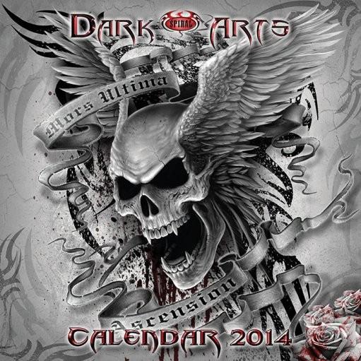 Calendário 2017 Calendar 2014 - SPIRAL