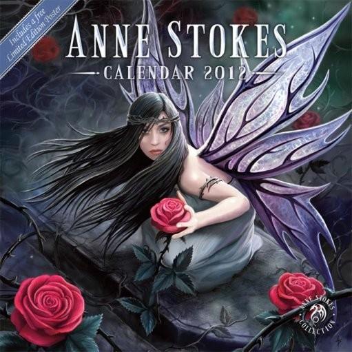 Calendário 2017 Calendário 2012 - ANNE STOKES