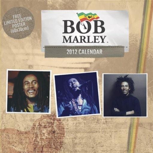 Calendário 2018 Calendário 2012 - BOB MARLEY