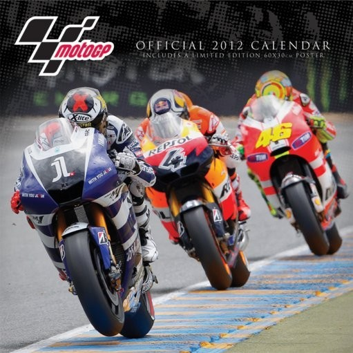 Calendário 2018 Calendário 2012 - MOTO GP