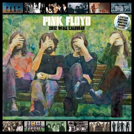 Calendário 2017 Calendário 2012 - PINK FLOYD