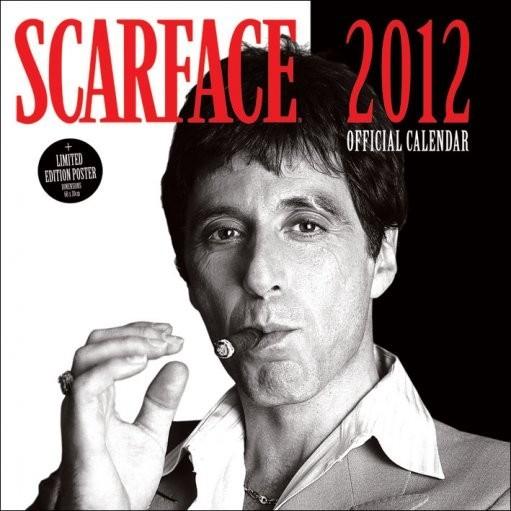 Calendário 2017 Calendário 2012 - SCARFACE
